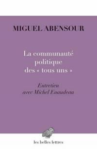 """La communauté politique des """"tous uns"""""""