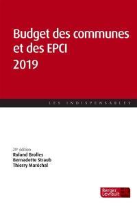 Budget des communes et des EPCI 2019