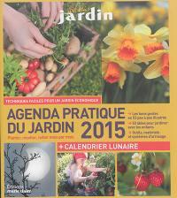 Agenda pratique du jardin 2015
