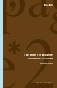 L'actualité d'un archaïsme