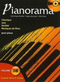 Pianorama. Volume 3A, A partir de la 5e année