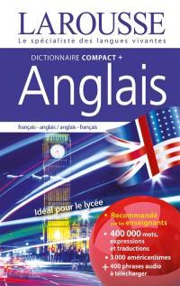 Dictionnaire compact + anglais