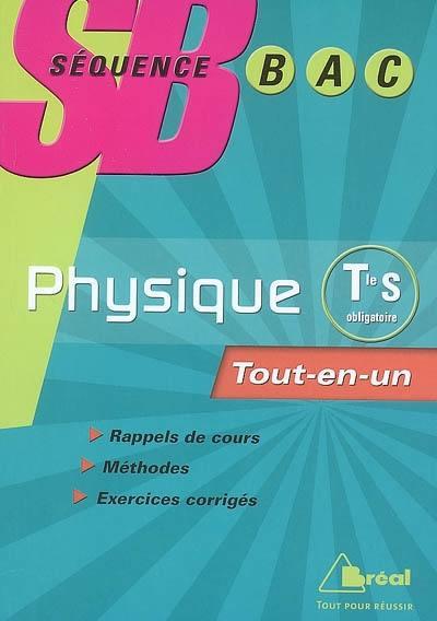 Physique terminale S, enseignement obligatoire