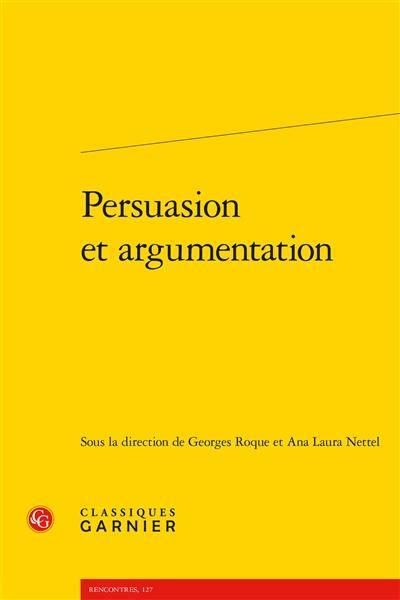 Persuasion et argumentation