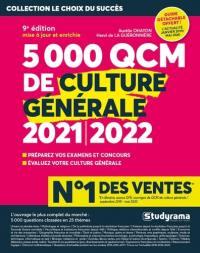 5.000 QCM de culture générale 2021-2022