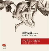 Faire corps