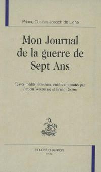 Mon journal de la guerre de Sept Ans