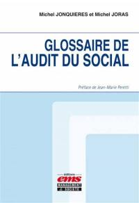 Glossaire de l'audit du social