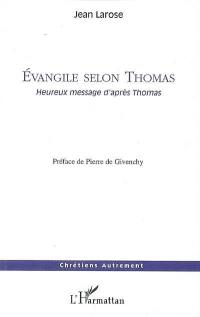 Evangile selon Thomas