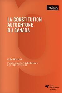 La constitution autochtone du Canada