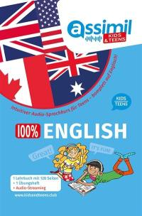 100 % English kids-teens