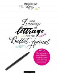 Petites leçons de lettrage pour mon bullet journal