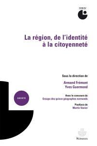 La région, de l'identité à la citoyenneté