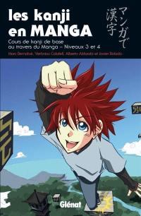 Les kanji en manga. Volume 2, Cours de kanji de base au travers du manga