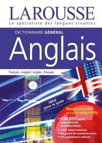 Dictionnaire général anglais