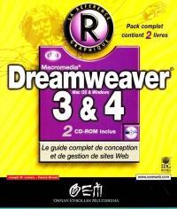 Dreamweaver 3 et 4; Dreamweaver 3; Dreamweaver 4 : la mise à jour