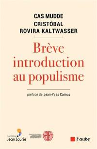 Brève introduction au populisme