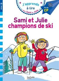 Sami et Julie, champions de ski