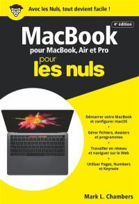 MacBook pour les nuls