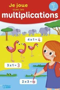 Je joue avec les multiplications