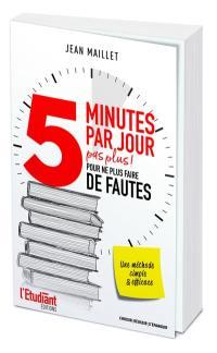 5 minutes par jour
