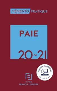 Paie 2020-2021