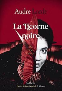 La licorne noire. The black unicorn