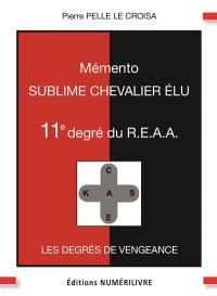 Mémento 11e degré du  REAA