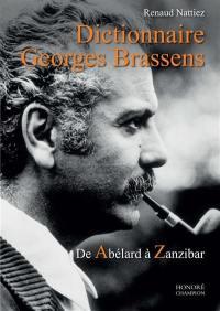 Dictionnaire Georges Brassens