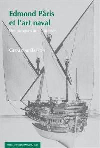 Edmond Pâris et l'art naval