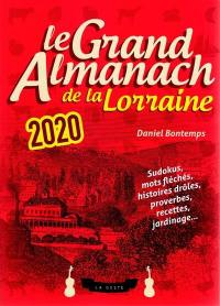 Le grand almanach de la Lorraine 2020