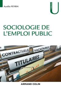 Sociologie de l'emploi public