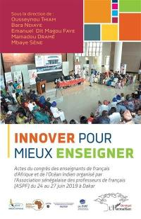 Innover pour mieux enseigner