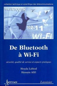 De Bluetooth à Wi-Fi