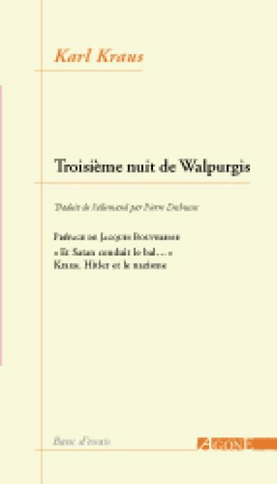 La troisième nuit de Walpurgis