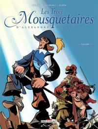 Les trois mousquetaires, d'Alexandre Dumas. Volume 1,