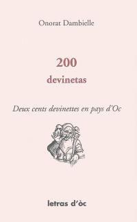 200 devinetas = Deux cents devinettes en pays d'Oc