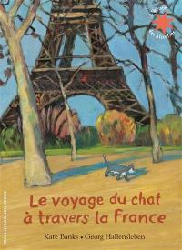 Le voyage du chat à travers la France