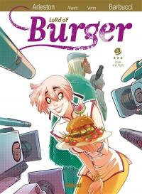 Lord of burger. Volume 3, Cook and fight