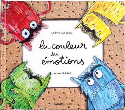 La couleur des émotions : un livre tout animé