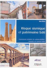 Risque sismique et patrimoine bâti