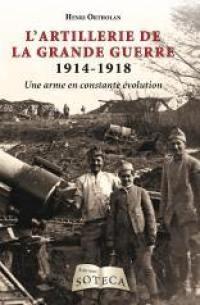 L'artillerie de la Grande Guerre