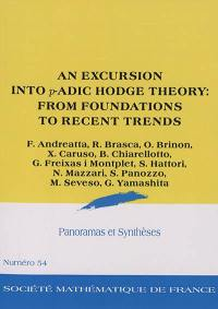 Panoramas et synthèses. n° 54, An excursion into p-adic Hodge theory : from foundations to recent trends