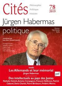 Cités. n° 78, Jürgen Habermas politique