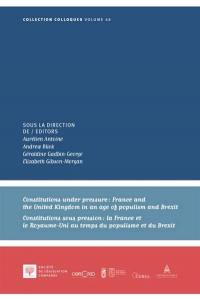 Constitutions under pressure