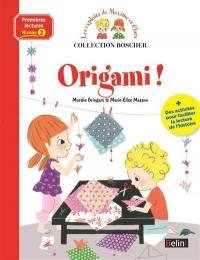 Les exploits de Maxime et Clara, Origami !