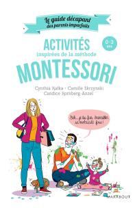 Activités inspirées de la méthode Montessori