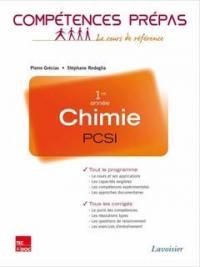 Chimie PCSI 1re année