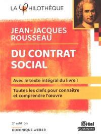 Du contrat social, Jean-Jacques Rousseau