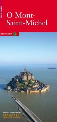 O Mont-Saint-Michel, Normandia (en portugais)